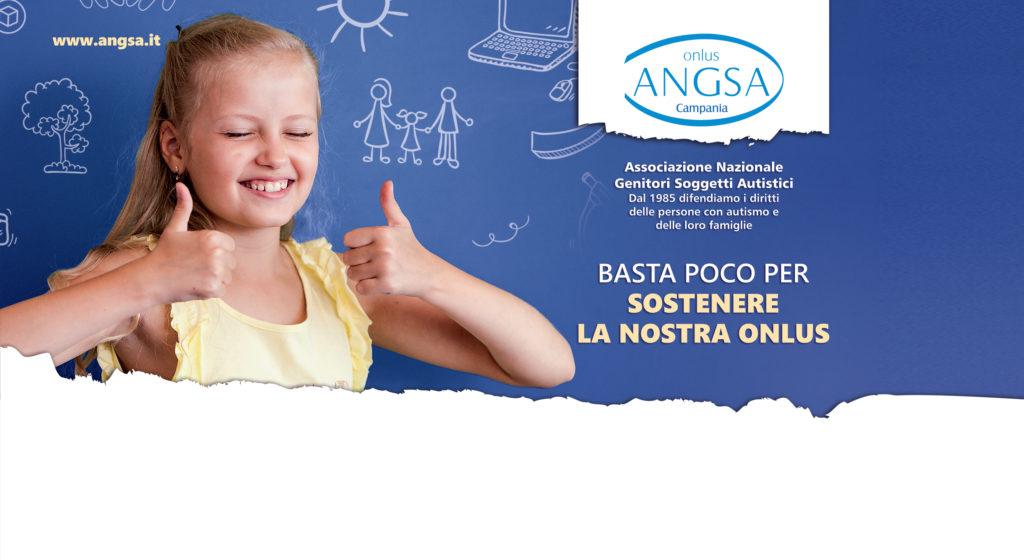 ANGSA Campania: basta poco per sostenere la nostra ONLUS