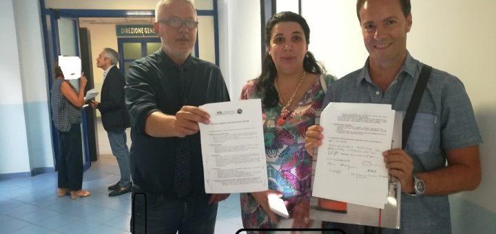 Salerno L'ASL incontra le associazioni e firma documento condiviso