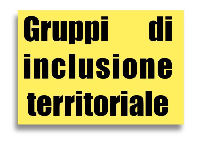 gruppi di inclusione territoriale